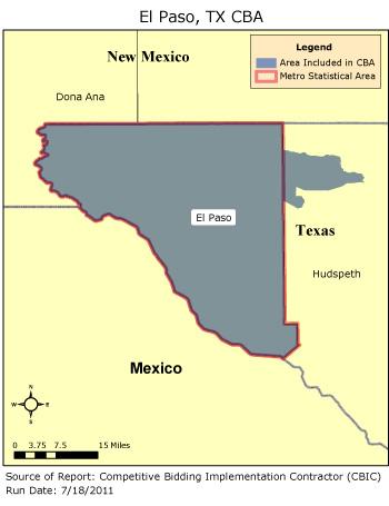 CBIC - Round 2 - Competitive Bidding Area - El Paso, TX, CBIC - CBIC ...