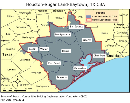 CBIC Round 2 Competitive Bidding Area HoustonSugar Land
