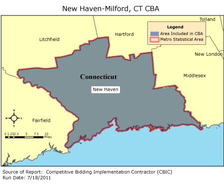 CBIC Round 2 Competitive Bidding Area New HavenMilford CT