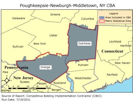 Newburgh area code