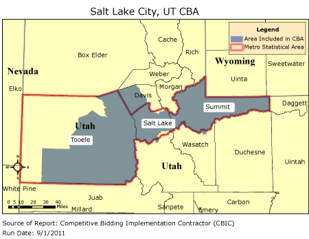 CBIC - Round 2 - Competitive Bidding Area - Salt Lake City, UT, CBIC ...