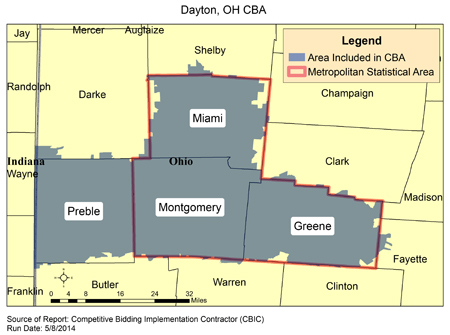 Cbic Round 2 Recompete Competitive Bidding Area Dayton Oh
