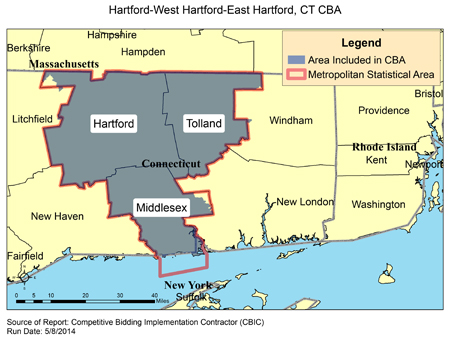 CBIC - Round 2 Recompete - Competitive Bidding Area - Hartford-West ...