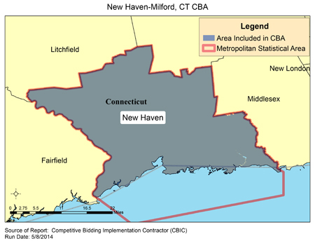Cbic Round 2 Recompete Competitive Bidding Area New Haven